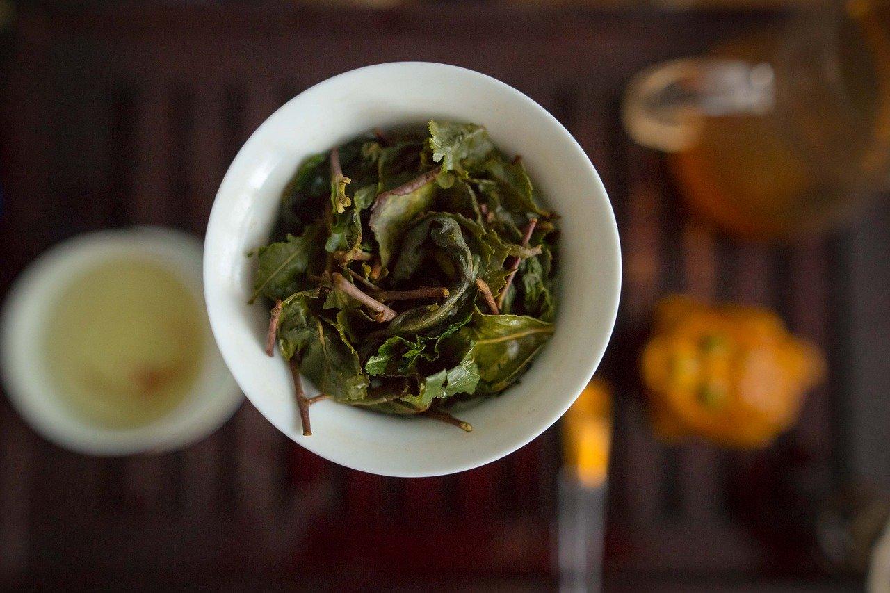 compozitie ceai verde