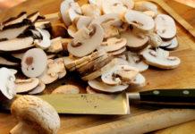 consumul de ciuperci